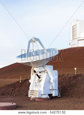 Small Mobile Radio Dish Antenna, Hawaii