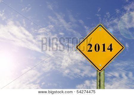 Road Sign To 2014