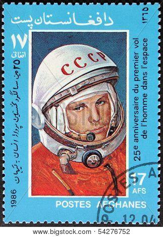 Gagarin Stamp