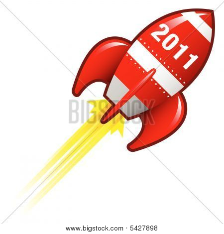 2011 Year Rocket Ship