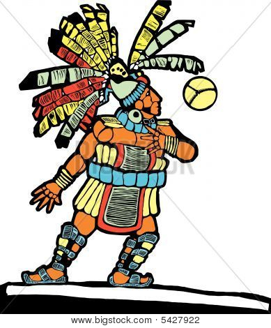 Mayan Ballplayer