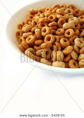 Breakfast Cereal Isolated On White