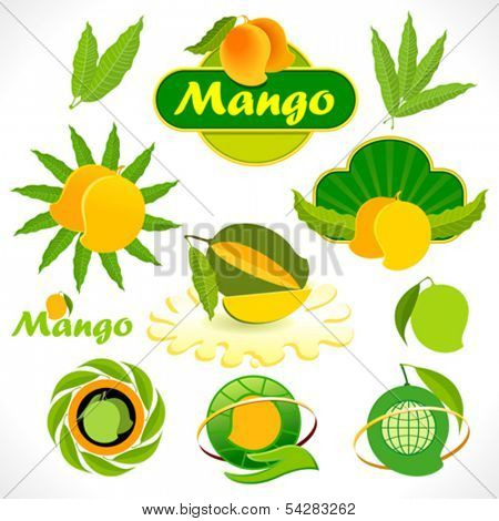 The Mango world - Stickers , Signs and Symbols