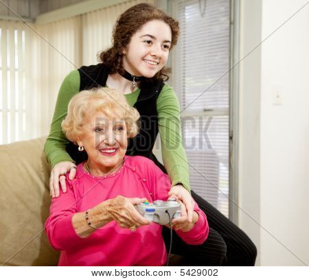 Gaming With Grandma