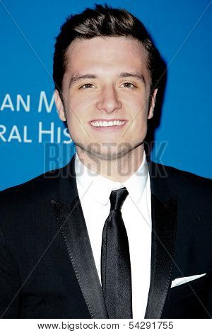 NEW YORK-NOV 21; Actor Josh Hutcherson attends the American Museum of Natural History's 2013 Museum Gala at American Museum of Natural History on November 21, 2013 in New York City.