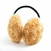 Brown Fuzzy Earmuffs