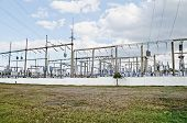 General View On The Electric Substation In Feodosia