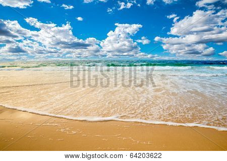 beach and sea