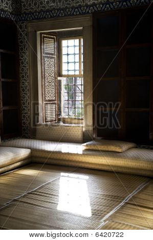 Interior Of The Library Of Ahmet III, Istanbul