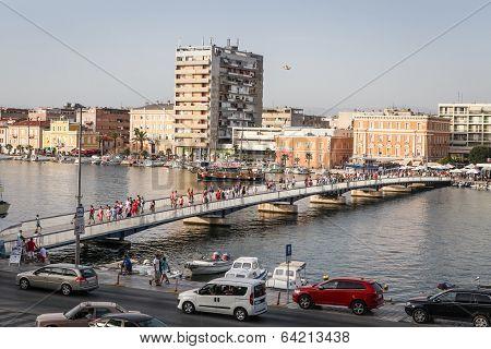Bridge in Zadar