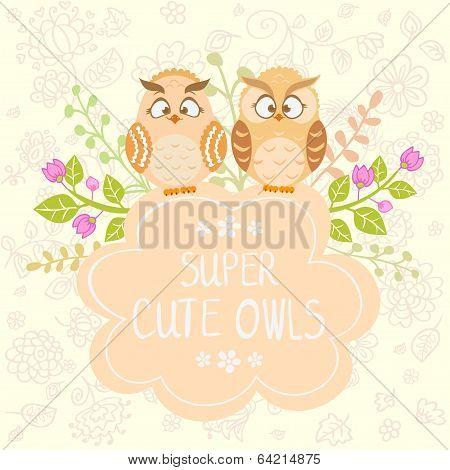 Owls cute