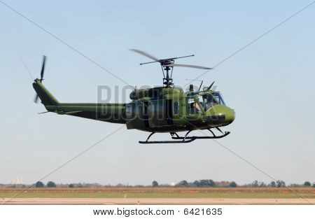Old Military Helicopter