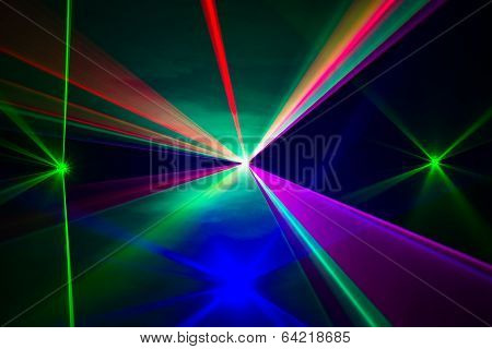 Spectrum Of Laser Beams