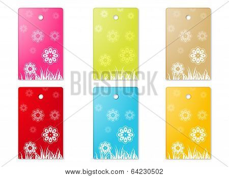 The Flower Theme Labels