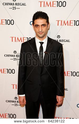 NEW YORK-APR 29: Dr. Obadah al-Kaddri attends the Time 100 Gala for the  Most Influential People in the World at the Frederick P. Rose Hall at Lincoln Center on April 29, 2014 in New York City.