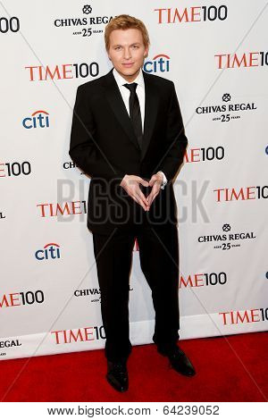 NEW YORK-APR 29: Ronan Farrow attends the Time 100 Gala for the Most Influential People in the World at the Frederick P. Rose Hall, Home of Jazz at Lincoln Center on April 29, 2014 in New York City.