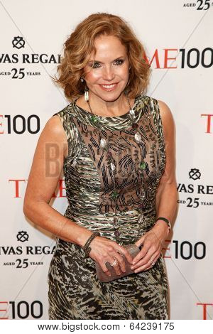 NEW YORK-APR 29: TV host Katie Couric attend the Time 100 Gala for the Most Influential People in the World at Frederick P. Rose Hall Home of Jazz at Lincoln Center on April 29, 2014 in New York City.