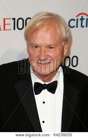 NEW YORK-APR 29: Commentator Chris Matthews attends the Time 100 Gala for the Most Influential People in the World at Frederick P. Rose Hall at Lincoln Center on April 29, 2014 in New York City.