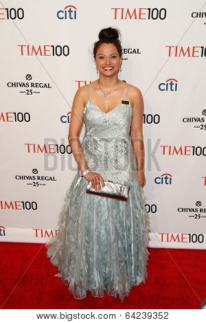 NEW YORK-APR 29: Withelma T Ortiz Walker Pettigrew attends the Time 100 Gala for the Most Influential People at Frederick P. Rose Hall at Lincoln Center on April 29, 2014 in New York City.
