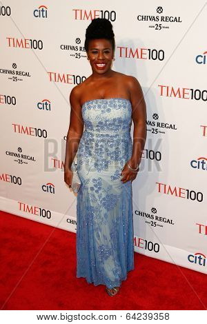 NEW YORK-APR 29: Actress Uzo Aduba attends the Time 100 Gala for the Most Influential People in the World at Frederick P. Rose Hall, Home of Jazz at Lincoln Center on April 29, 2014 in New York City.