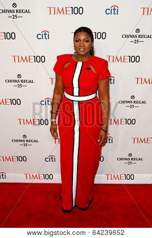 NEW YORK-APR 29: Actress Omotola Jalade Ekeinde attends the Time 100 Gala for the Most Influential People in the World at Frederick P. Rose Hall at Lincoln Center on April 29, 2014 in New York City.