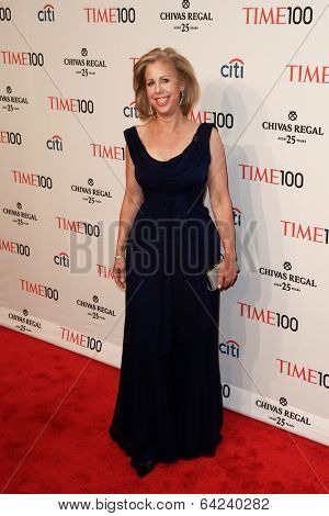 NEW YORK-APR 29: Time Magazine Managing Editor Nancy Gibbs attends the Time 100 Gala for the Most Influential People at the Frederick P. Rose Hall at Lincoln Center on April 29, 2014 in New York City.