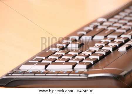 The computer keyboard
