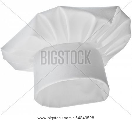Tall Chef Hat isolated on white background