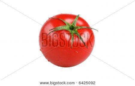 Fresh, jucy red tomato