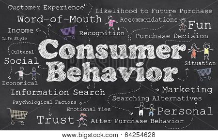 Words Of Consumer Behavior