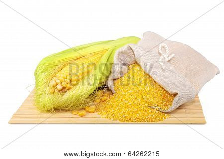 Composition From Corn And Maize Flour