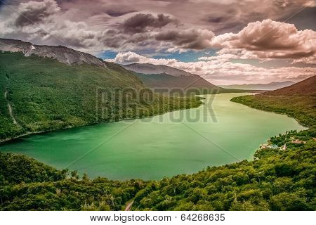 Argentinian lake