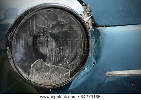 Broken Headlight