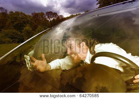 Driver Furious On Gps Navigation A Wrong Way