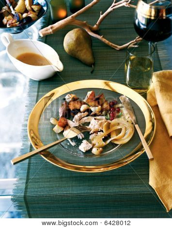 Turkey, Fennel And Roast Potatoes