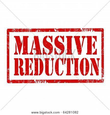 Massive Reduction-stamp