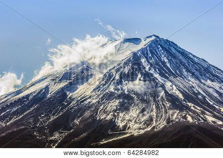 Mt. Fuji At Lake Kawaguchiko