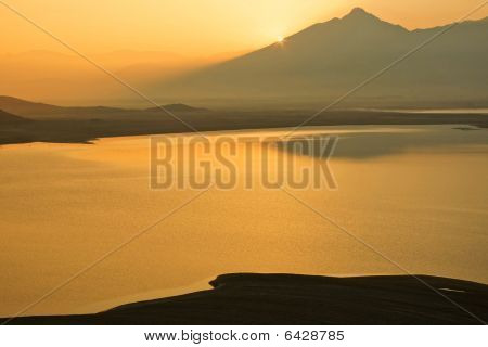 Sunrise At Lake Isabela