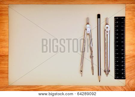 Drawing Table And Tools