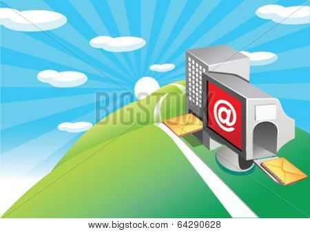 Email input and output processing