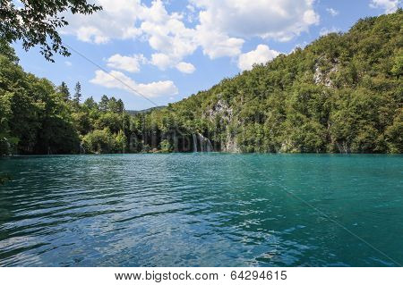 Lake in Plitvice, Croatia