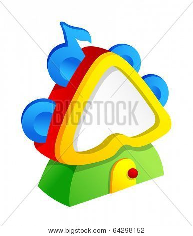 Vector icon tambourine
