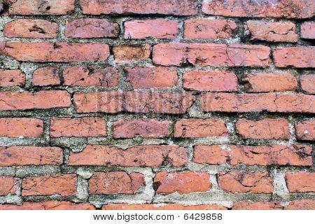 Horizontal bricks background