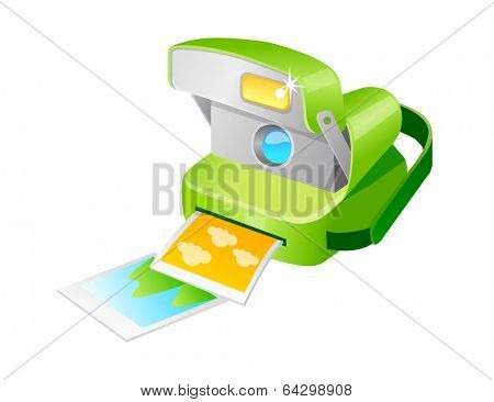 vector icon polaroid