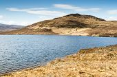 picture of derelict  - Isolated derelict cottage overlooking Loch Bad an Sgalaig in Wester Ross - JPG