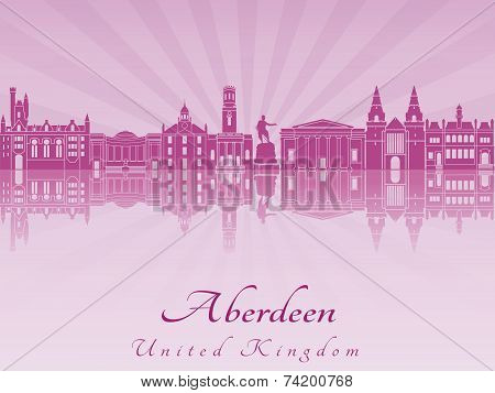Aberdenn Skyline In Purple Radiant Orchid
