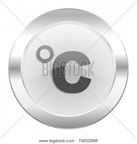 celsius chrome web icon isolated