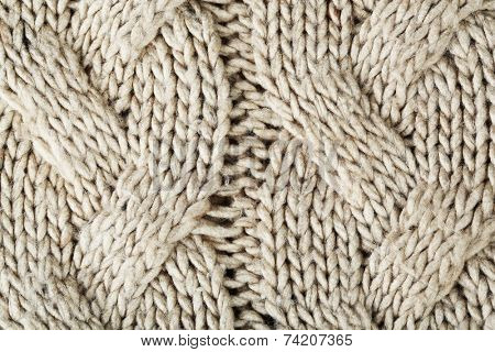 Knitting texture, close up