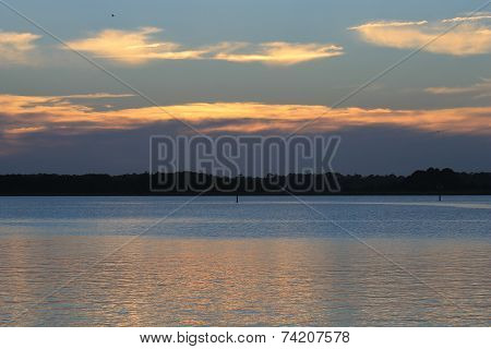 Sunrise over the Intra-coastal water way