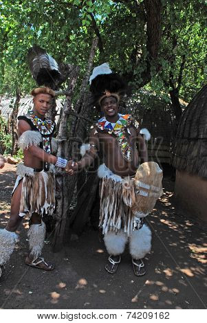 Zulu Men, South Africa